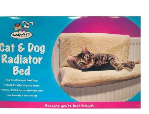 Radiator bed for cat on test bench